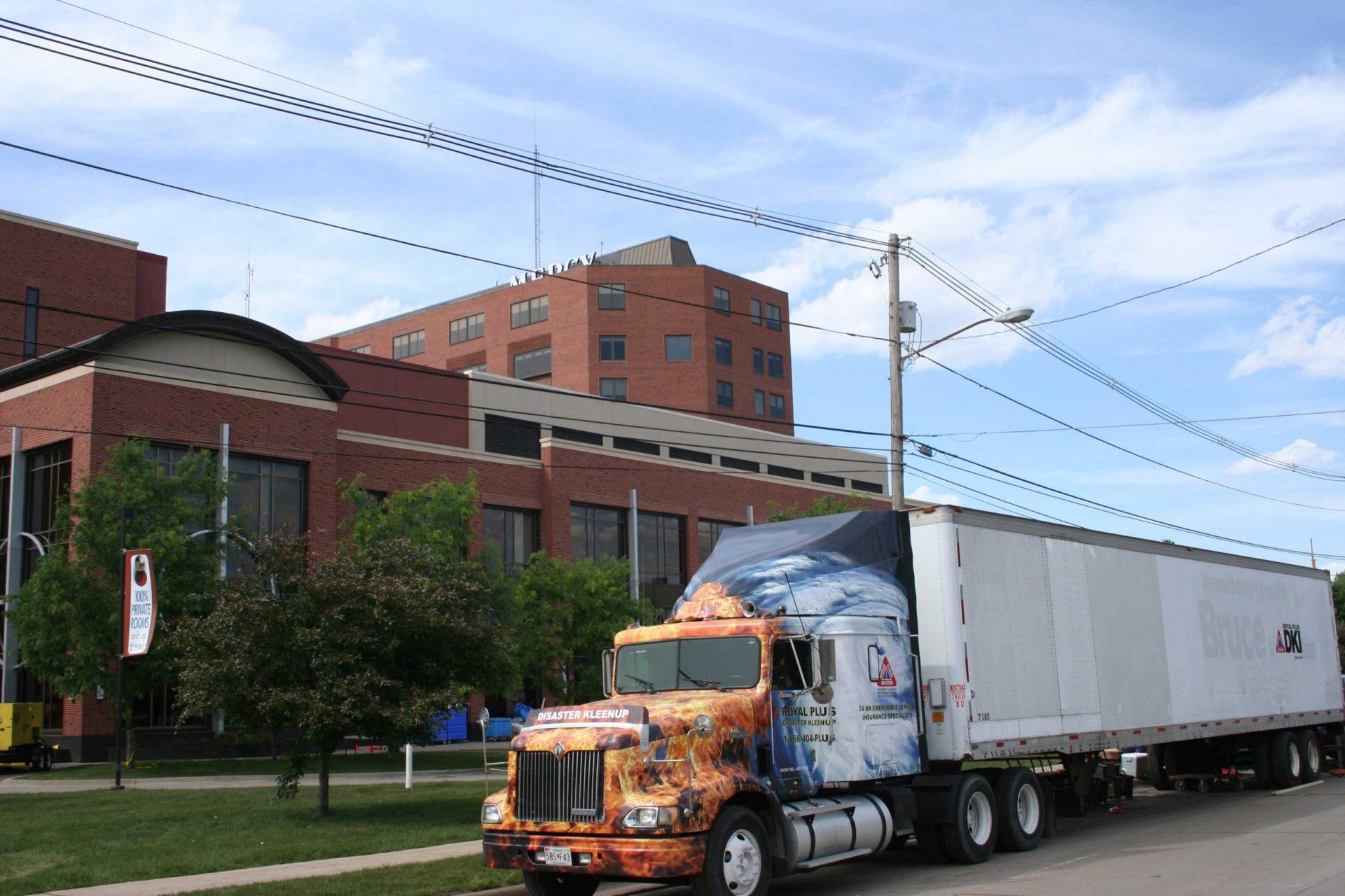 Royal Plus Helps Repair Mercy Medical Center Water Damage